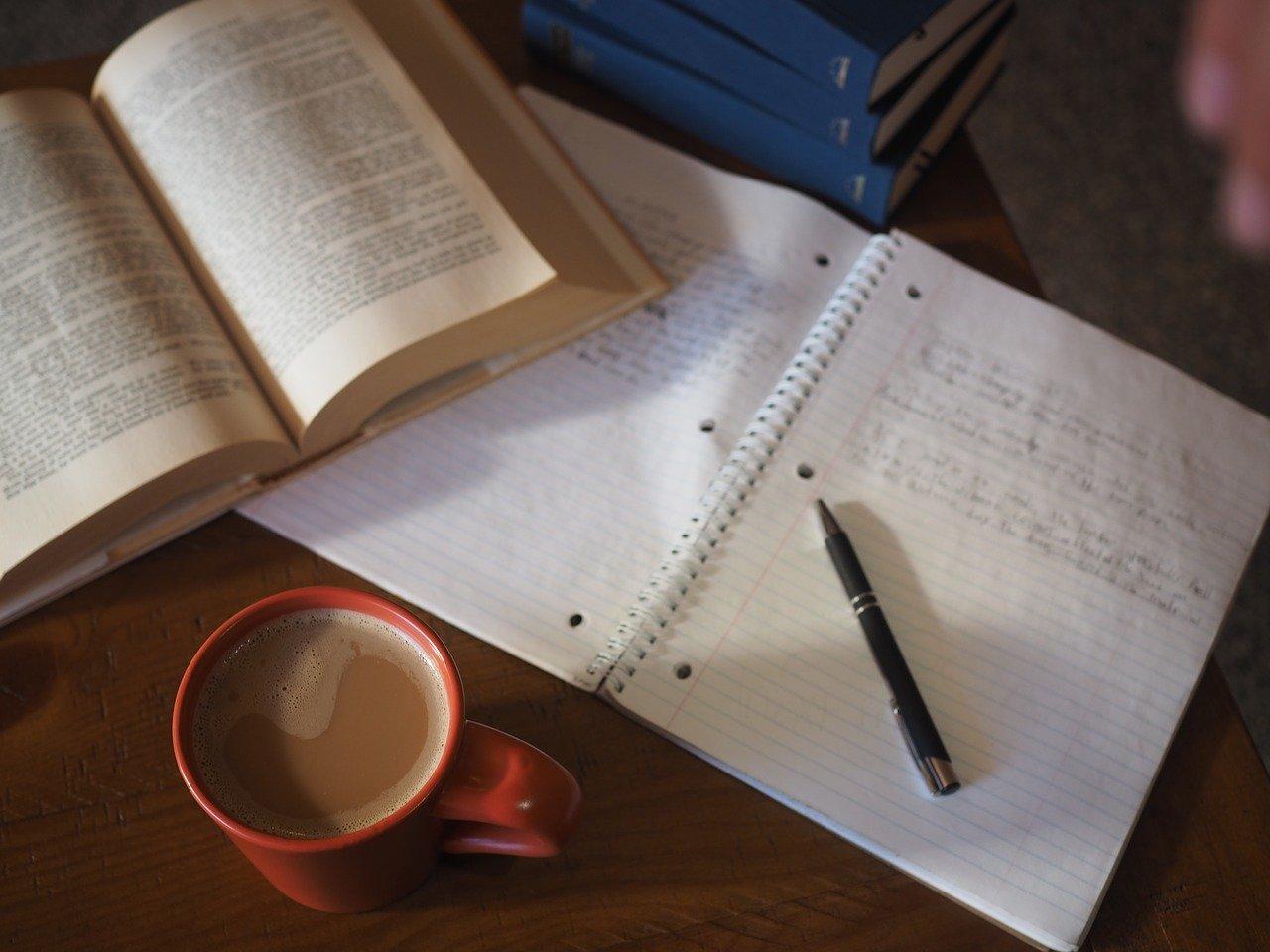 caffè studiare